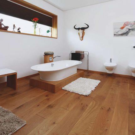 Landhausdiele Massivholzdiele badezimmer
