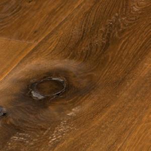 Wildeiche 3-Schichtlandhausdiele geräuchert Rustikal geölt