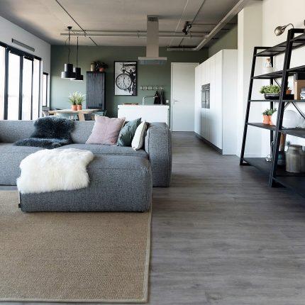 ParquetVinyl Landhausdiele Flächenbild Wohnzimmer